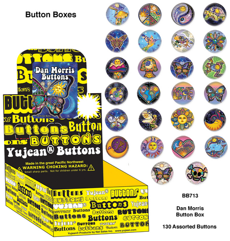 Dan Morris Button Box | Butterflies