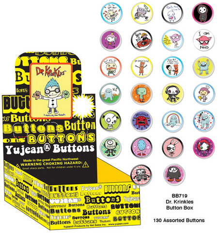 Dr Krinkles Button Box | LOL!!!
