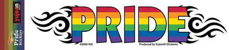 Tribal Pride Sticker