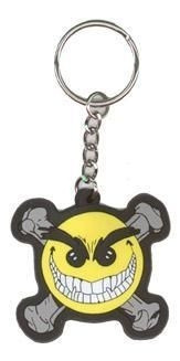 Chaos Smiley Keychain