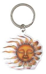 Sleeping Sun Keychain
