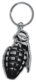 Skygraphx Grenade Metal Keychain | CLEARANCE!!