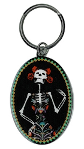 Evilkid Catrina Day of the Dead keyring | Evilkid
