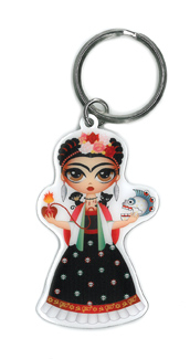 Evilkid Frida Keyring | The Very Latest!!!