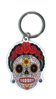 Sunny Buick Calavera Frida Keyring | Undead, Skeletons and Creatures of the Night