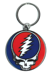 Steal Your Face Keyring | Grateful Dead Stickers, Patches, Keychains and More!