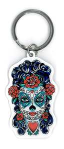 Sunny Buick Butterfly Eyes Keyring | Skulls and Dragons