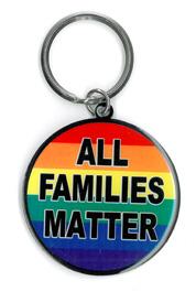 All Families Matter Keyring | Gay Pride, LGBT