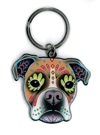 Pretty in Ink Boxer Keyring | The Very Latest!!!