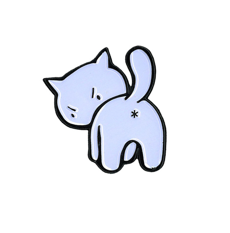 Evilkid Kitty Enamel Pin | Enamel Pins