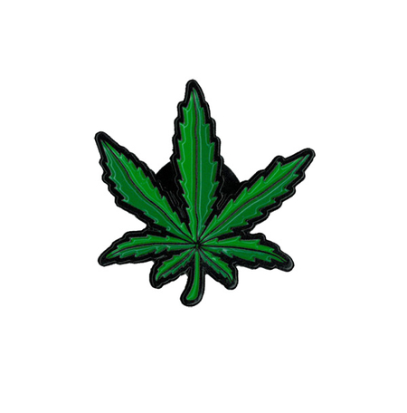 Pot Leaf Enamel Pin | Hippie