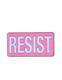 Pink Resist Enamel Pin | The Very Latest!!!