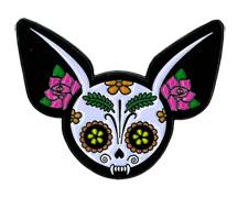 Evilkid Chihuahua Enamel Pin | Sugar Skulls