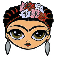 Evilkid Frida Enamel Pin | The Very Latest!!!