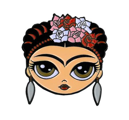 Evilkid Frida Enamel Pin | Latino