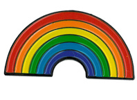 Rainbow Enamel Pin | Enamel Pins