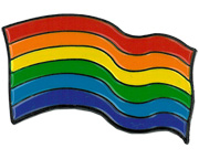 Rainbow Flag Enamel Pin | The Very Latest!!!