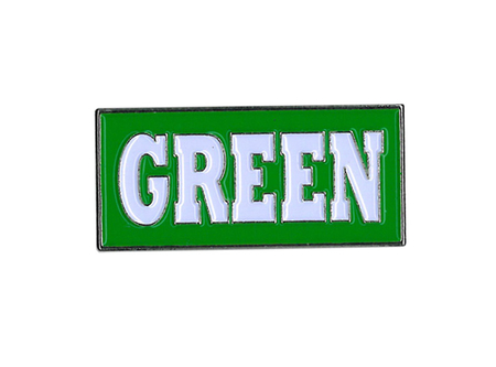 Green Enamel Pin | Enamel Pins