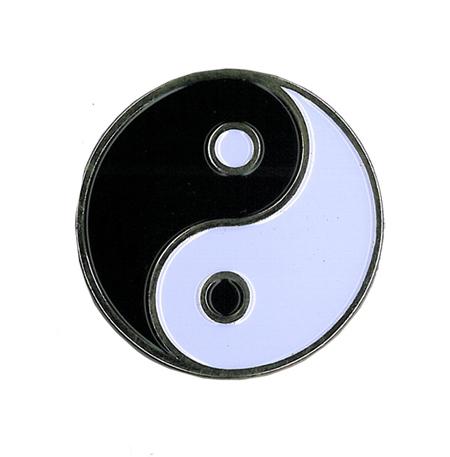Yin Yang Enamel Pin | Hippie