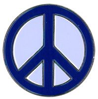 Peace Sign Enamel Pin | The Very Latest!!!