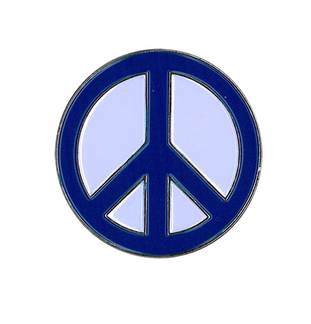 Peace Sign Enamel Pin | #PINKRESIST