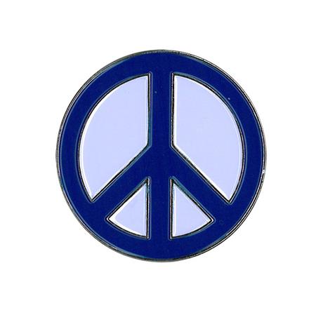 Peace Sign Enamel Pin | #PINKRESIST