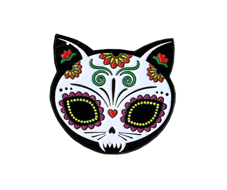 Evilkid Gato Muerto Enamel Pin | The Very Latest!!!