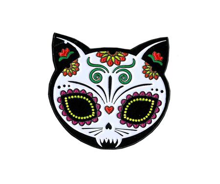 Evilkid Gato Muerto Enamel Pin | Sugar Skulls