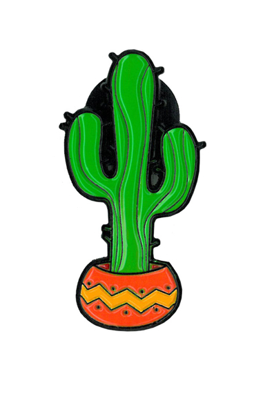 Cactus 1 Enamel Pin | The Very Latest!!!