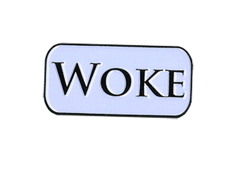 Woke Enamel Pin | New Stuff, 2018