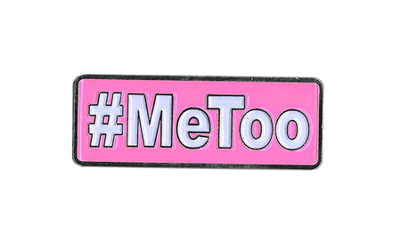#MeToo Enamel Pin | #RESIST