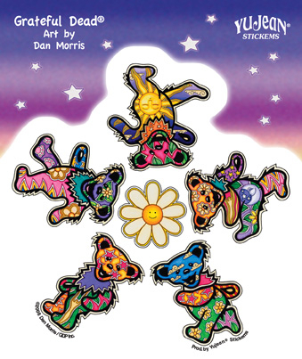 grateful dead bears. Grateful Dead Daisy Bears