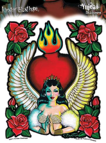 Kirsten Easthope Avamaria Pinup Sticker | Latino