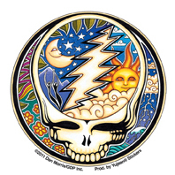 Dan Morris Mini Steal Your Face Sticker 25-Pack | Celestial