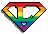 Super Lesbian Mini Sticker 25 Pack | Gay Pride, LGBT