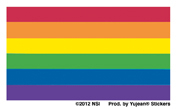 Mini Pride Flag Stickers 25 pack | Stickers