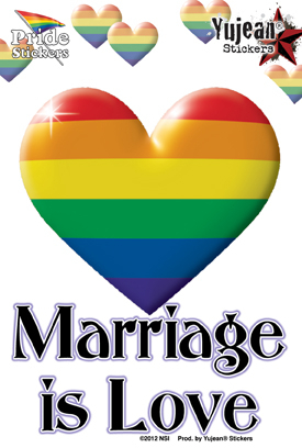Marriage is Love | Gay Pride, LGBT