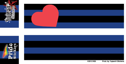 BDSM Leather and Fetish Flag | Stickers