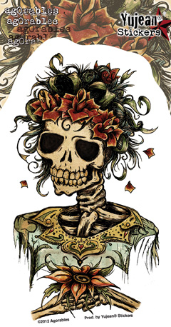 Agorables Muertos Day of the Dead Bride Sticker | Stickers