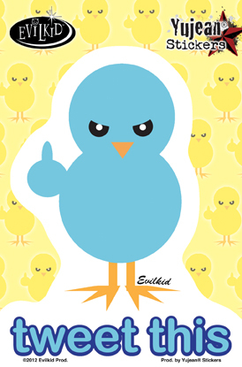 Tweet This Sticker | Trend