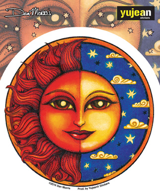 Dan Morris Celestial Twilight Sticker | The Very Latest!!!