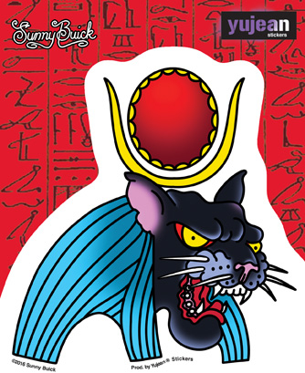 Sunny Buick Panther God Sticker | Egyptology