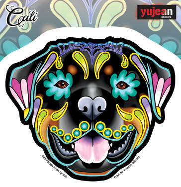 Cali's Rottweiler Sticker | New Stuff, 2018
