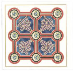 'Circle Cross Of Matthew' Greeting Card