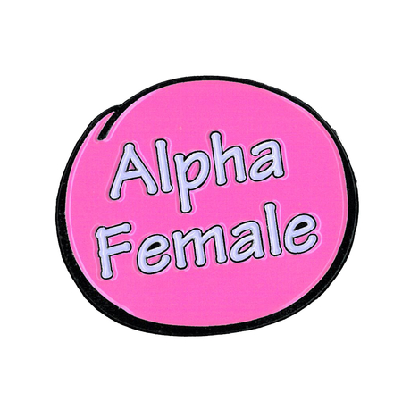 Alpha Female Enamel Pin | Enamel Pins