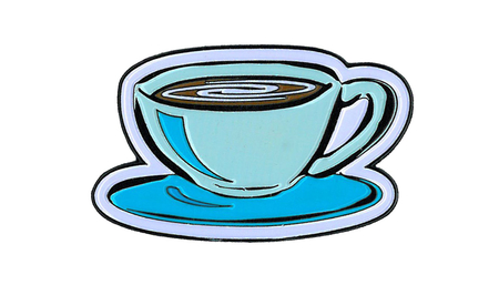 Coffee Cup Enamel Pin | Enamel Pins