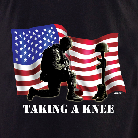 Taking a Knee T-shirt | Military!!