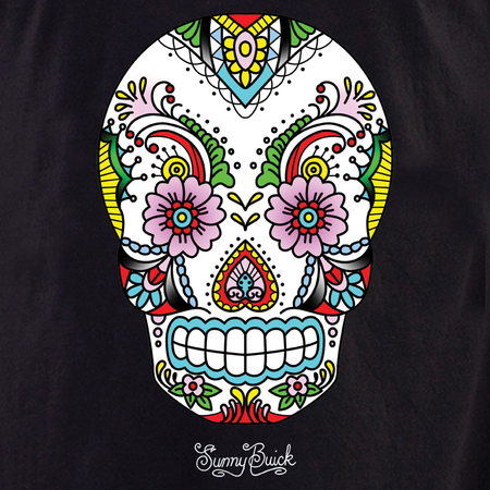 Sunny's Lace Sugar Skull T-shirt | T-Shirts and Hoodies