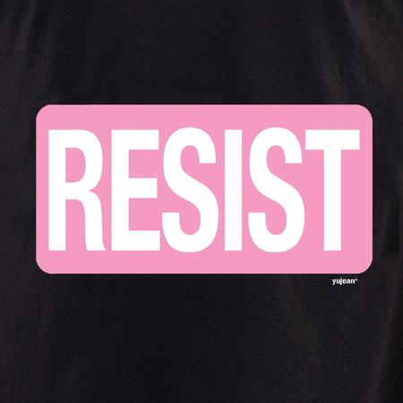 Resist T-shirt | Pink #RESIST
