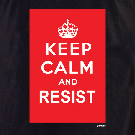 Keep Calm and Resist T-shirt | #PINKRESIST